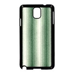 Dark Green Curly Stripes Samsung Galaxy Note 3 Neo Hardshell Case (black) by BestCustomGiftsForYou