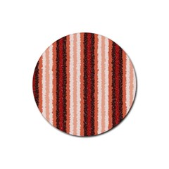 Native American Curly Stripes   1 Drink Coaster (round)