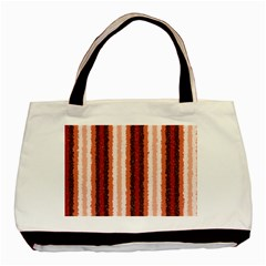 Native American Curly Stripes   1 Twin Sided Black Tote Bag by BestCustomGiftsForYou
