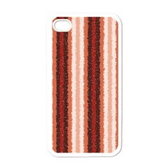 Native American Curly Stripes   1 Apple Iphone 4 Case (white) by BestCustomGiftsForYou