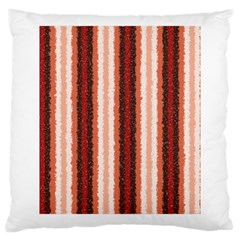 Native American Curly Stripes   1 Large Cushion Case (single Sided)  by BestCustomGiftsForYou