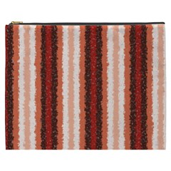 Native American Curly Stripes   1 Cosmetic Bag (xxxl) by BestCustomGiftsForYou