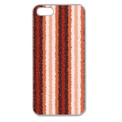 Native American Curly Stripes   1 Apple Seamless Iphone 5 Case (clear) by BestCustomGiftsForYou