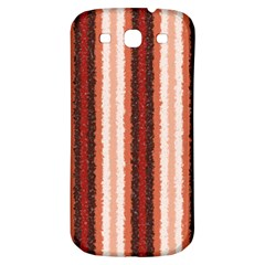 Native American Curly Stripes   1 Samsung Galaxy S3 S Iii Classic Hardshell Back Case by BestCustomGiftsForYou