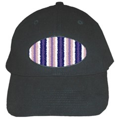 Native American Curly Stripes   2 Black Baseball Cap by BestCustomGiftsForYou