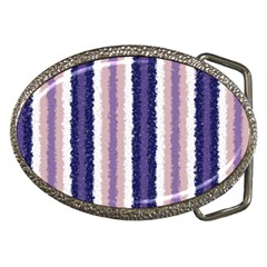 Native American Curly Stripes   2 Belt Buckle (oval) by BestCustomGiftsForYou
