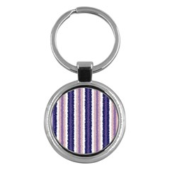 Native American Curly Stripes   2 Key Chain (round) by BestCustomGiftsForYou