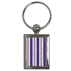 Native American Curly Stripes   2 Key Chain (rectangle) by BestCustomGiftsForYou