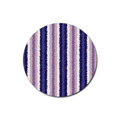 Native American Curly Stripes   2 Drink Coaster (round) by BestCustomGiftsForYou
