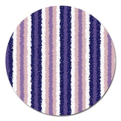 Native American Curly Stripes   2 Magnet 5  (round) by BestCustomGiftsForYou