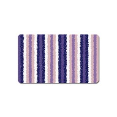 Native American Curly Stripes   2 Magnet (name Card) by BestCustomGiftsForYou