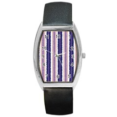 Native American Curly Stripes   2 Tonneau Leather Watch by BestCustomGiftsForYou