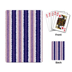 Native American Curly Stripes   2 Playing Cards Single Design by BestCustomGiftsForYou