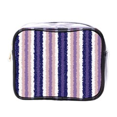 Native American Curly Stripes   2 Mini Travel Toiletry Bag (one Side) by BestCustomGiftsForYou