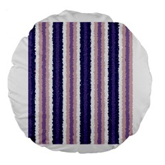 Native American Curly Stripes   2 18  Premium Round Cushion  by BestCustomGiftsForYou