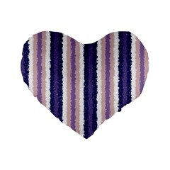 Native American Curly Stripes   2 16  Premium Heart Shape Cushion  by BestCustomGiftsForYou