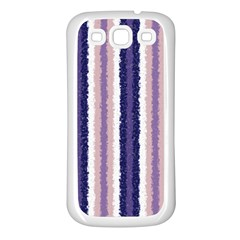 Native American Curly Stripes   2 Samsung Galaxy S3 Back Case (white) by BestCustomGiftsForYou