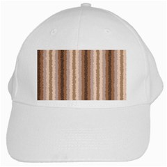 Native American Curly Stripes   3 White Baseball Cap by BestCustomGiftsForYou