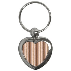 Native American Curly Stripes   3 Key Chain (heart) by BestCustomGiftsForYou