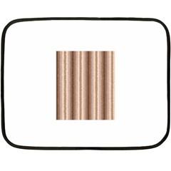 Native American Curly Stripes   3 Mini Fleece Blanket (two Sided)
