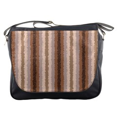 Native American Curly Stripes   3 Messenger Bag by BestCustomGiftsForYou