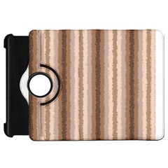 Native American Curly Stripes   3 Kindle Fire Hd Flip 360 Case by BestCustomGiftsForYou