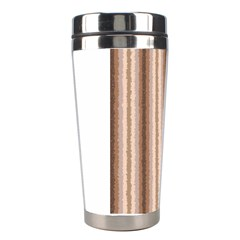 Native American Curly Stripes   3 Stainless Steel Travel Tumbler by BestCustomGiftsForYou