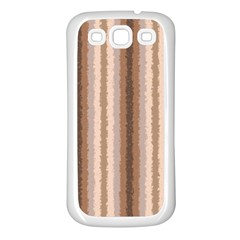 Native American Curly Stripes   3 Samsung Galaxy S3 Back Case (white) by BestCustomGiftsForYou