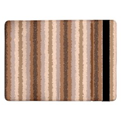 Native American Curly Stripes   3 Samsung Galaxy Tab Pro 12 2  Flip Case by BestCustomGiftsForYou