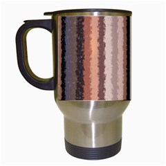 Native American Curly Stripes   4 Travel Mug (white) by BestCustomGiftsForYou
