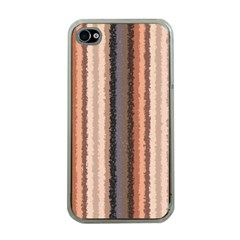 Native American Curly Stripes   4 Apple Iphone 4 Case (clear) by BestCustomGiftsForYou