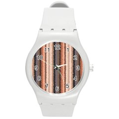 Native American Curly Stripes   4 Plastic Sport Watch (medium) by BestCustomGiftsForYou