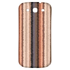 Native American Curly Stripes   4 Samsung Galaxy S3 S Iii Classic Hardshell Back Case by BestCustomGiftsForYou