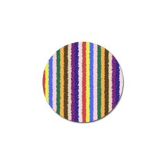 Vivid Colors Curly Stripes   1 Golf Ball Marker by BestCustomGiftsForYou