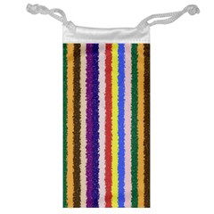 Vivid Colors Curly Stripes   1 Jewelry Bag by BestCustomGiftsForYou