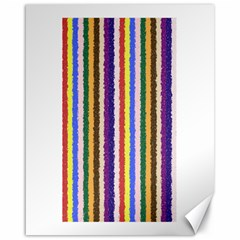 Vivid Colors Curly Stripes   1 Canvas 16  X 20  (unframed) by BestCustomGiftsForYou
