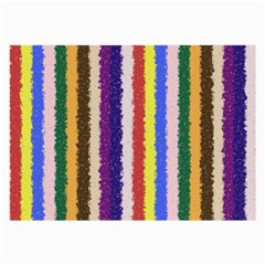 Vivid Colors Curly Stripes - 1 Glasses Cloth (Large, Two Sided) by BestCustomGiftsForYou