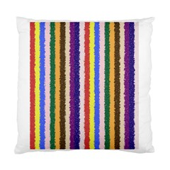 Vivid Colors Curly Stripes   1 Cushion Case (two Sided)  by BestCustomGiftsForYou