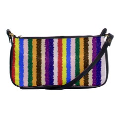 Vivid Colors Curly Stripes   1 Evening Bag by BestCustomGiftsForYou