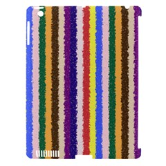 Vivid Colors Curly Stripes   1 Apple Ipad 3/4 Hardshell Case (compatible With Smart Cover) by BestCustomGiftsForYou