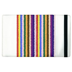Vivid Colors Curly Stripes   1 Apple Ipad 2 Flip Case by BestCustomGiftsForYou