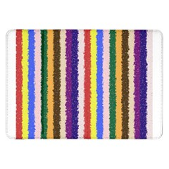 Vivid Colors Curly Stripes   1 Samsung Galaxy Tab 8 9  P7300 Flip Case by BestCustomGiftsForYou