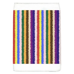 Vivid Colors Curly Stripes   1 Removable Flap Cover (large) by BestCustomGiftsForYou