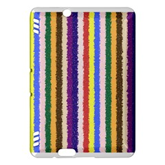 Vivid Colors Curly Stripes   1 Kindle Fire Hdx Hardshell Case by BestCustomGiftsForYou