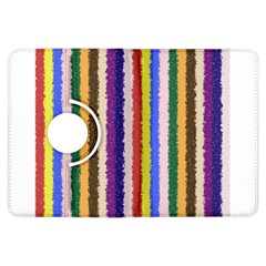Vivid Colors Curly Stripes   1 Kindle Fire Hdx Flip 360 Case by BestCustomGiftsForYou
