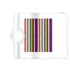 Vivid Colors Curly Stripes   1 Kindle Fire Hdx 8 9  Flip 360 Case by BestCustomGiftsForYou