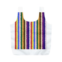 Vivid Colors Curly Stripes   1 Reusable Bag (m) by BestCustomGiftsForYou