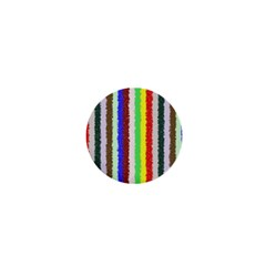 Vivid Colors Curly Stripes   2 1  Mini Button by BestCustomGiftsForYou