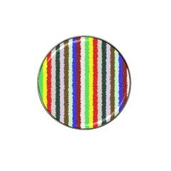 Vivid Colors Curly Stripes   2 Golf Ball Marker 10 Pack (for Hat Clip) by BestCustomGiftsForYou