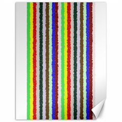 Vivid Colors Curly Stripes   2 Canvas 12  X 16  (unframed) by BestCustomGiftsForYou
